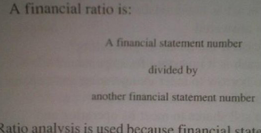 Errors in text books_ financial ratio