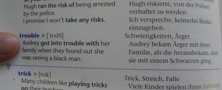 Errors in text books_ got in trouble when seeing a black man