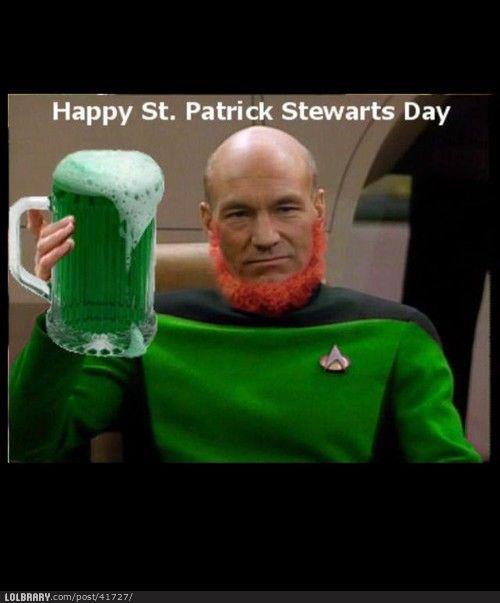 Happy St Patrick Stewart Day
