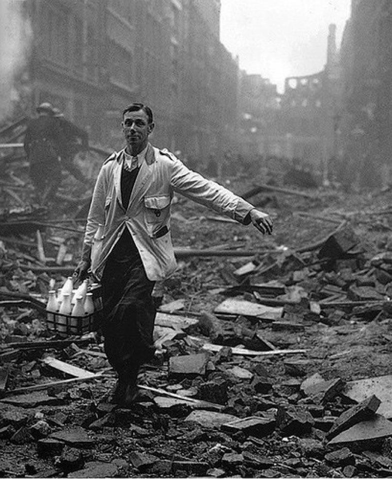 London Blitz milkman