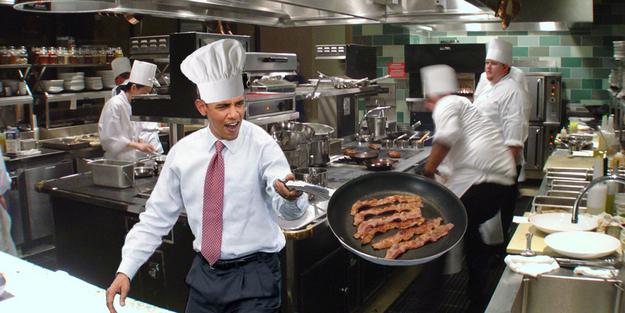 Obama light saber Obama-Chef