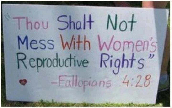 political-womens-rights-thou shalt no mess with women's reproductive rights
