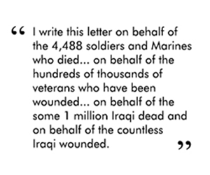 quote 2 letter to bush and cheney 1