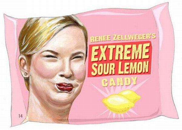 rene zellweger's sour lemon candy