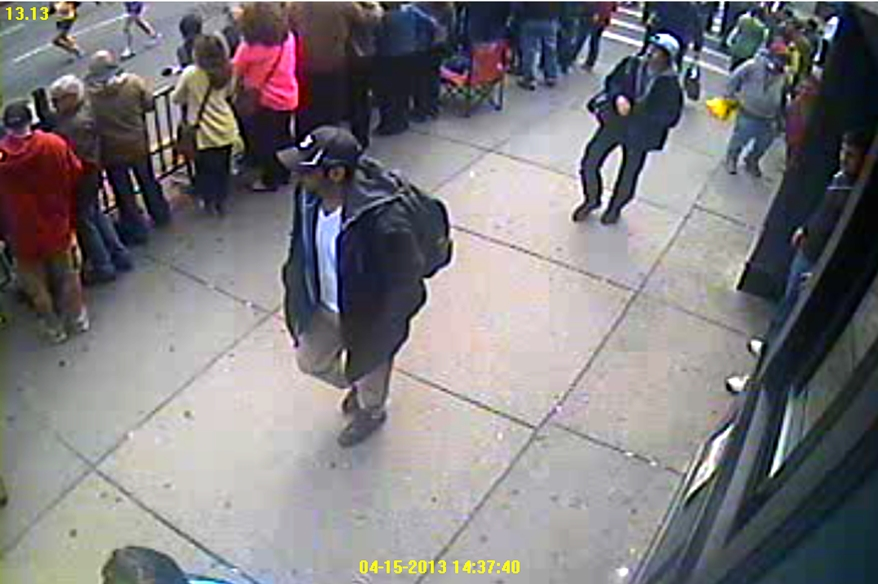Boston Marathon bombing suspect photo 1