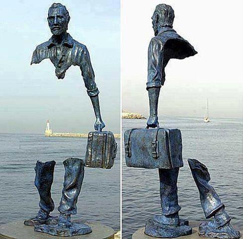 Sculpture by Bruno Catalano
