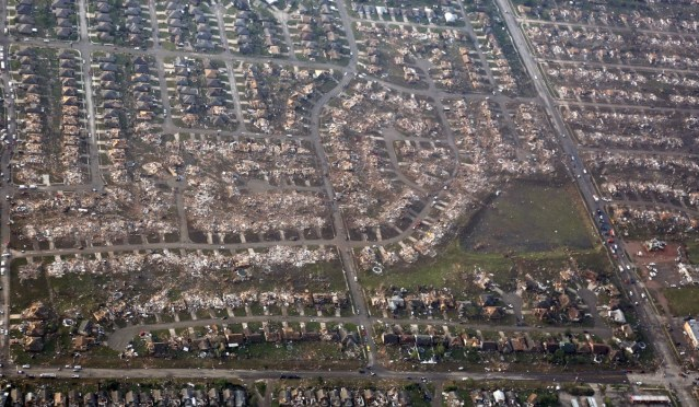 moore ok aerial view