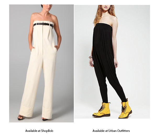 designer high waisted pants and jumpsuit