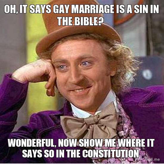 same sex marriage memes in Irving