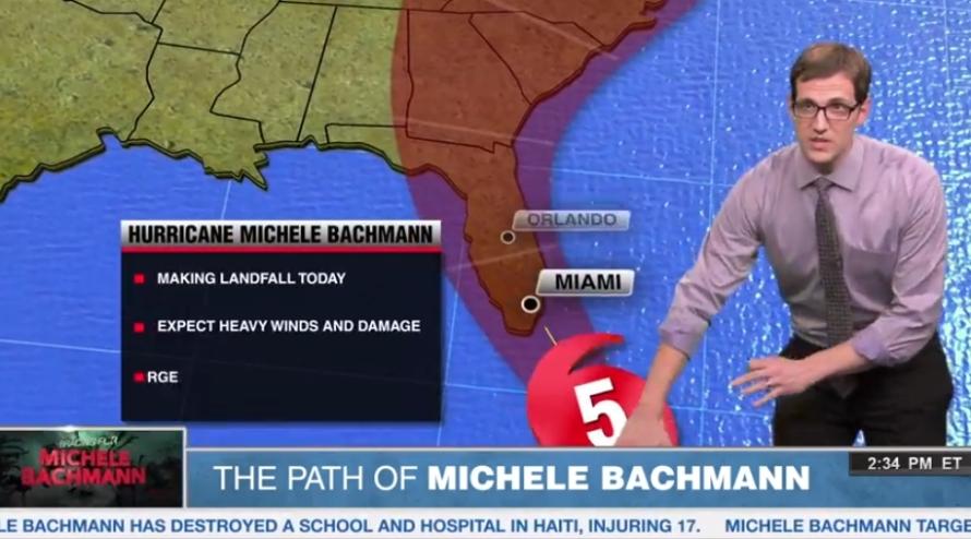eye of Hurricane Michele Bachmann