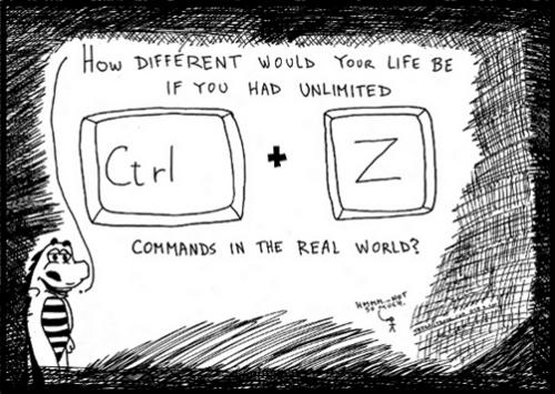 cartoon geek control z real life