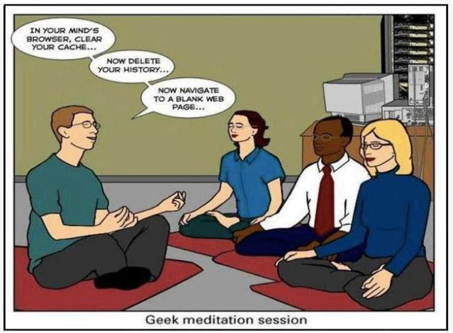geek meditation center