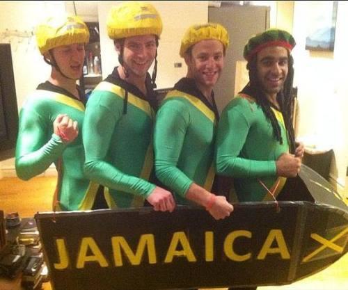 Halloween Costumes Jamaican Bobsled Team Motley News Photos And Fun