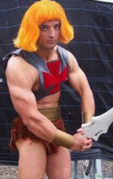 He-man with Wendy's hair?
