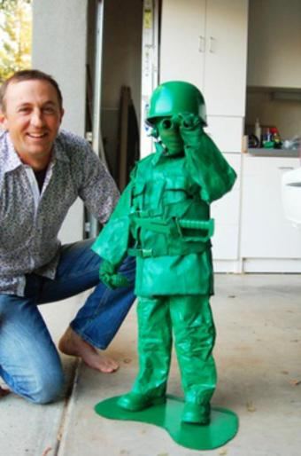 toy green army soldier halloween costume