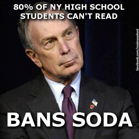 80percent students cannot read bans soda meme ny