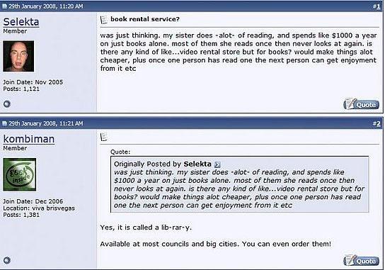 quora_stupid questions_book rental