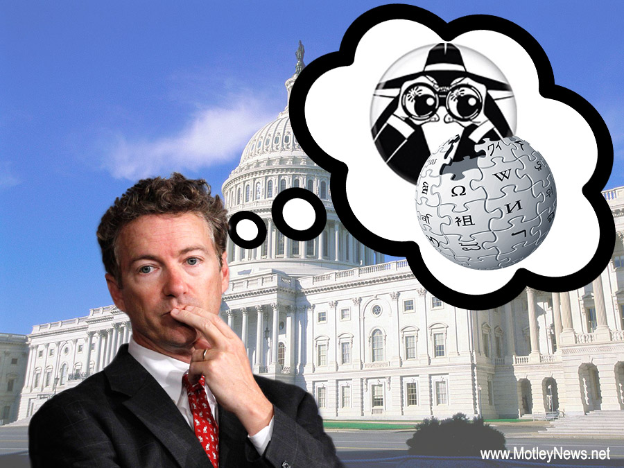 Rand Paul thinking of stealing from wiki