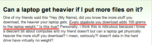 stupid internet question_more downloads make computer heavier
