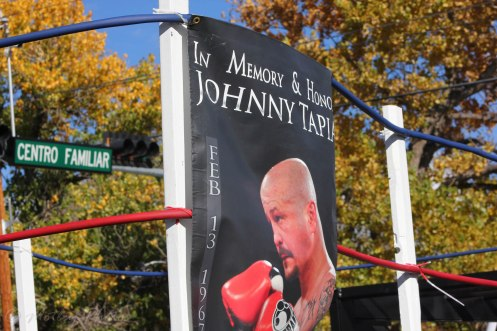 In memory of Johnny Tapia