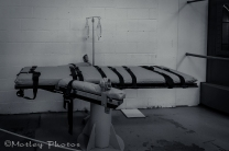 Lethal injection table.