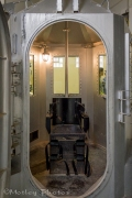 Only one inmate was put to death in this gas chamber.
