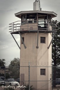 Old Main_ Guard tower outside fencing 1