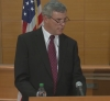 Ferguson prosecutor Robert McCulloch at press conference with announcing grand jury finding.