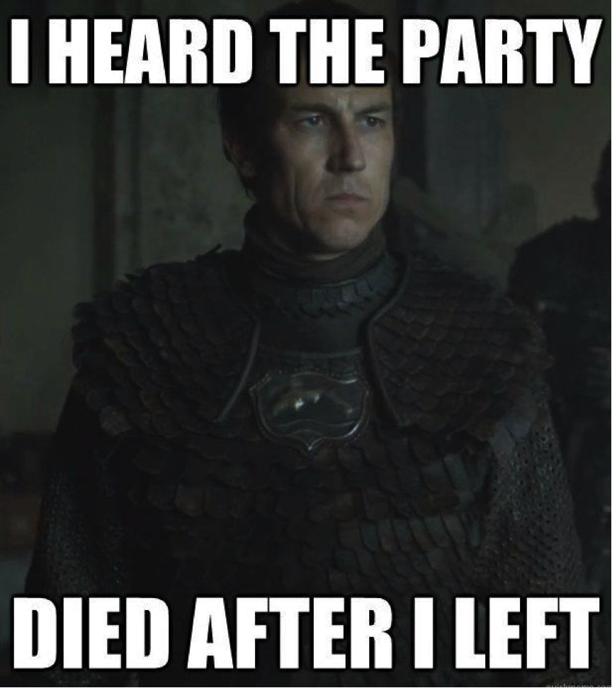 Red Wedding Party Died Meme Motley News Photos And Fun