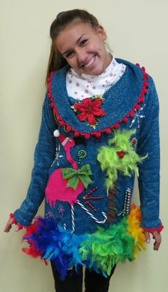 Just another ugly Christmas sweater.