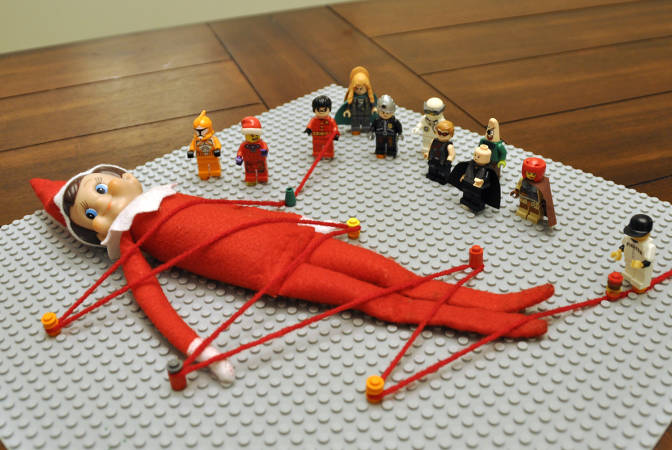 Elf-on-a-Shelf version of Gulliver's Travels?