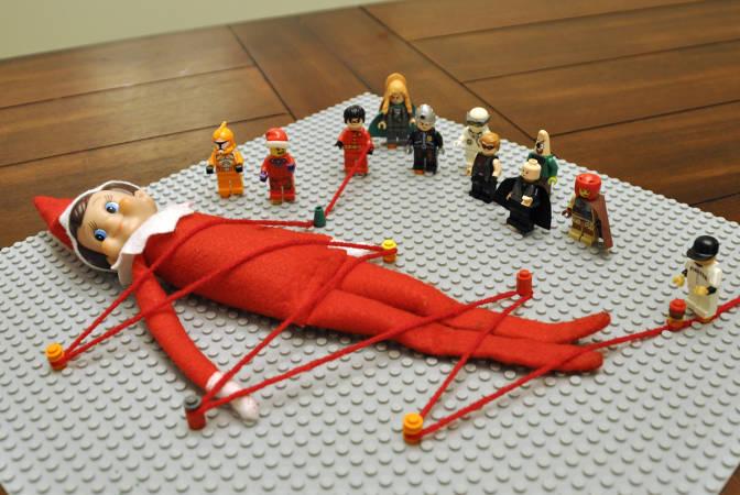 Elf-on-a-Shelf version of Gulliver's Travels?