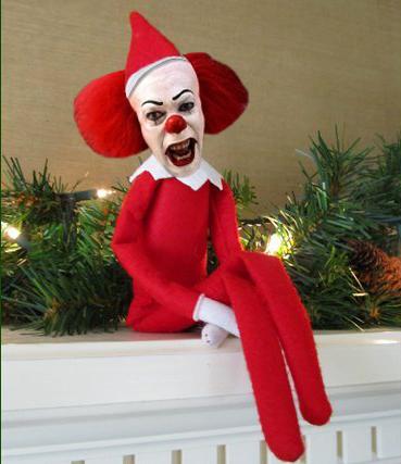 Aaaahhhhh! Pennywise-elf!
