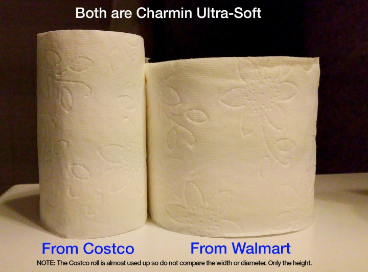 the toilet paper challenge costco vs walmart motley news