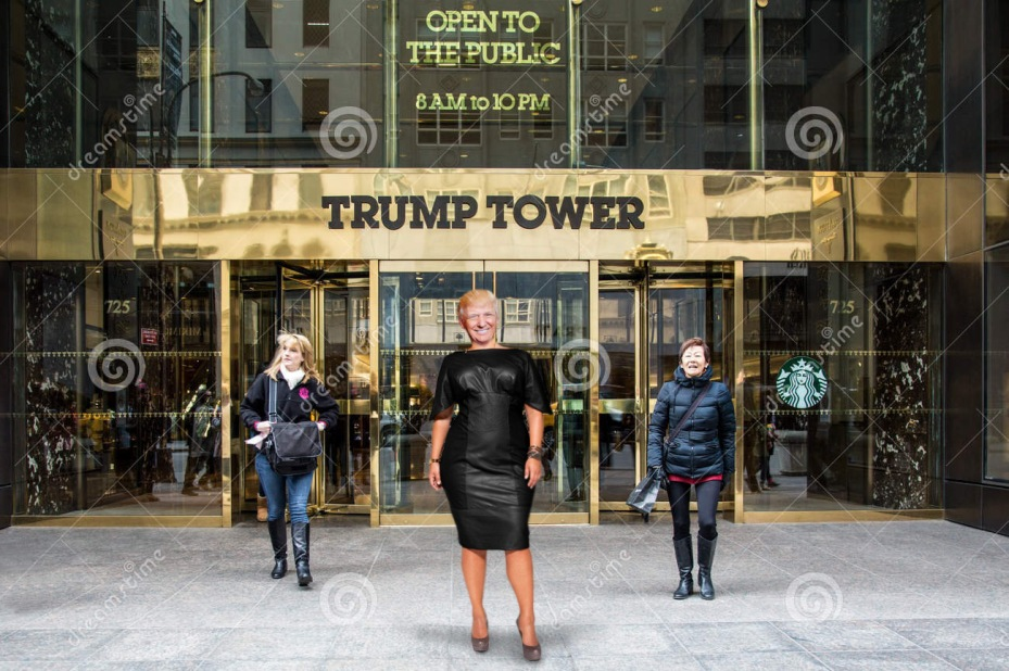 trump-as-a-woman-in-front-of-trump-tower-2