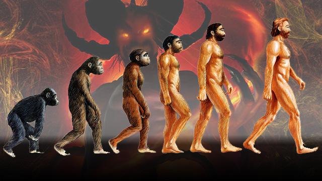 devil-behind-evolution-in-motion
