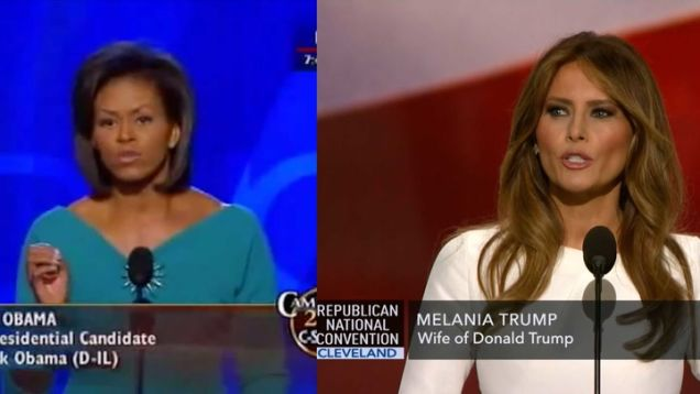 melania-trump-plagiarizes-michelle-obama-speech