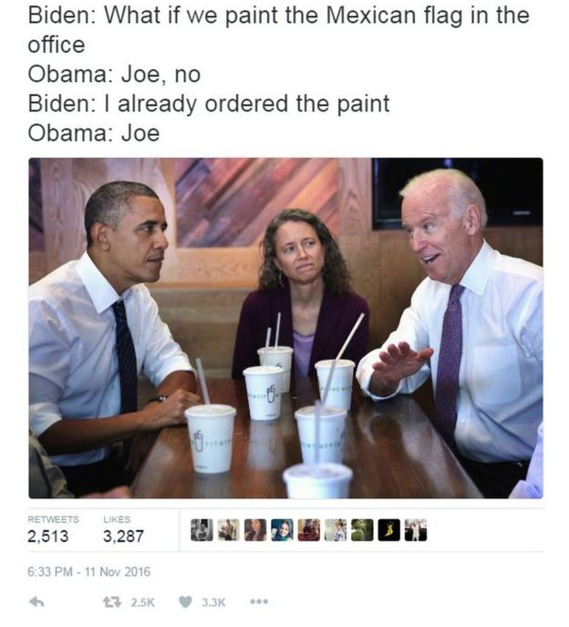 biden obama meme mexican flag oval office?w=500&h=550 biden and obama memes having some fun at trump's expense motley