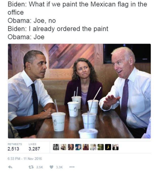 biden obama meme mexican flag oval office?w=500&h=550 biden and obama memes having some fun at trump's expense motley